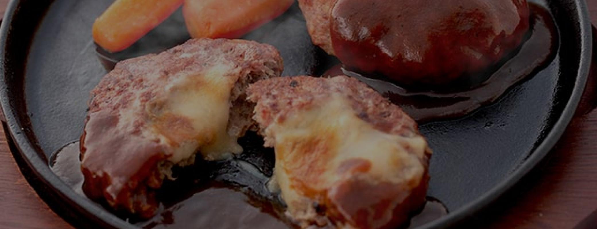 マンマハンバーグ チーズ
